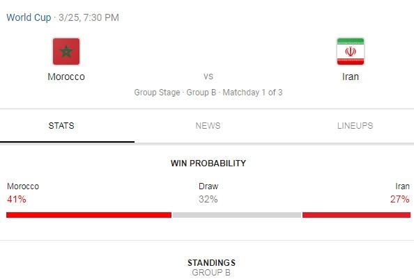 دانلود بازی ایران مراکش