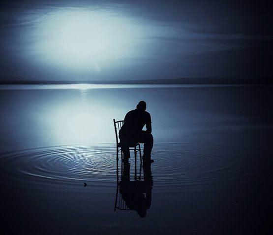 عکس پروفایل مفهومی بدون متن تنهایی و بی کسی
