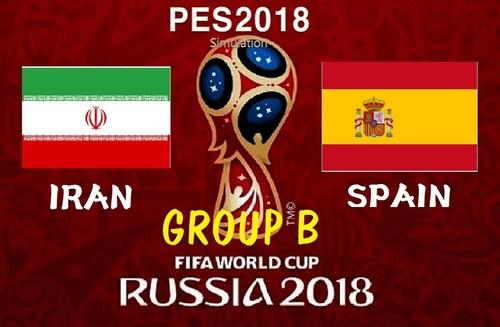 خلاصه بازی ایران اسپانیا