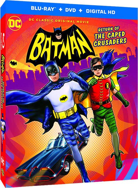 دانلود انیمیشن Batman Return of the Caped Crusaders 2016