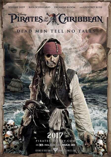 دانلود فیلم دزدان دریایی کاراییب 5