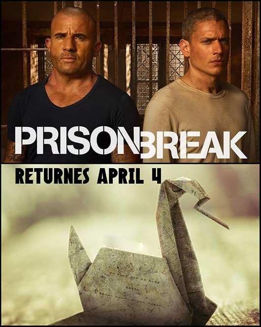 دانلود دوبله فارسی فصل پنجم سریال فرار از زندان 2017 Prison Break