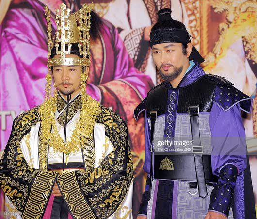 بازیگران سریال کره ای رویای فرمانروای بزرگ