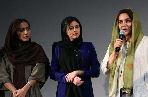 عکس اکران فیلم ملی و راه های نرفته اش