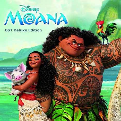 دوبله انیمیشن موانا 2016