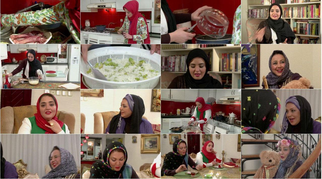 شام ایرانی نرگس محمدی