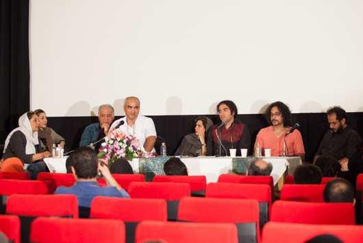 مراسم رونمایی فیلم تیک آف