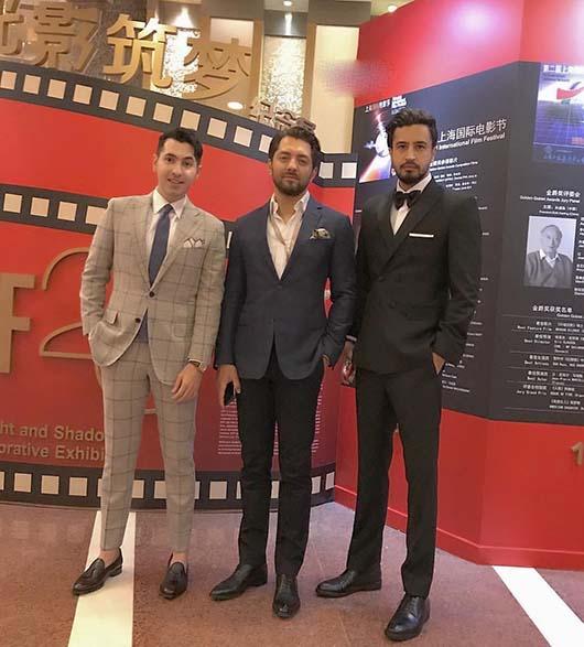 عکس اکران فیلم زرد جشنواره شانگهای