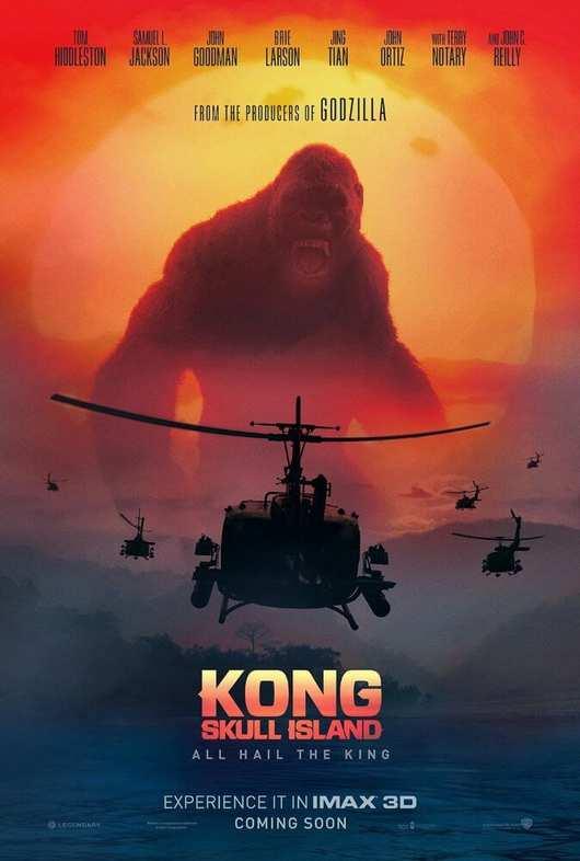 فیلم کینگ کونگ جزیره اسکلت 2017